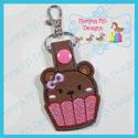 Cupcake Bear Snap Tab