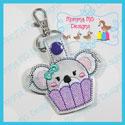 Cupcake Koala Snap Tab