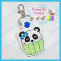 Cupcake Panda Snap Tab