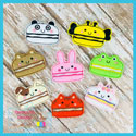 Animal Macaroon Feltie Bundle