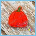 Candy Pumpkin Feltie