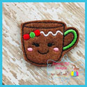 Ginger Girl Mug Feltie