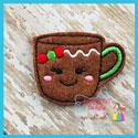 Ginger Girl Mug Feltie