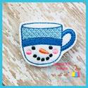 Snowman Mug Feltie