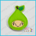 Fruit Kids Pear Feltie
