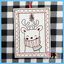 Critter Christmas Portraits - Deer