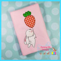 Bunny With Carrot Balloon Applique