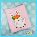 Bunny With Carrot Applique