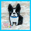 Boston Terrier Feltie