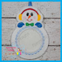 Snowman Photo Ornament