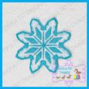 Snowflake 1 Feltie