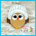 Pilgrim Girl Owl Feltie