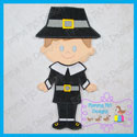 Pilgrim Boy Set 5x7