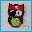 Pirate Owl Feltie