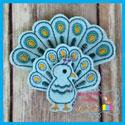 Peacock 1 Over-Sized Felties
