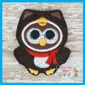 Penguin Owl Feltie