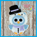 Snowman Owl Ornament