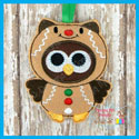 Gingerbread Owl Ornament