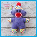 Sock Monkey Softie