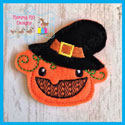 EXCLUSIVE Witch Pumpkin Feltie