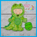 Alligator Costume Set 4x4