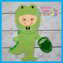Alligator Costume Set 5x7