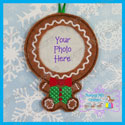 Gingerbread Photo Ornament