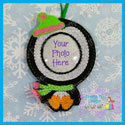 Penguin Photo Ornament