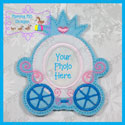 Princess Carriage Photo Ornament & Clippy Keeper