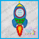 Rocket Photo Ornament