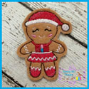Mrs. Santa Gingerbread Feltie
