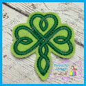 Celtic Shamrock Feltie