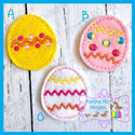 Easter Egg Feltie SET