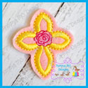 Loop Rose Cross Feltie
