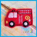 Fire Truck Feltie