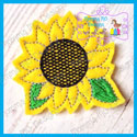 Sunflower Feltie