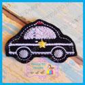 Police Car Feltie