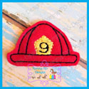 Fire Hat Feltie