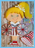 Cheerleader Set 5x7