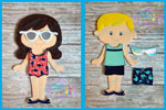 Beach Wear Set 6x10