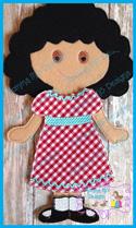 Fiona Doll 6x10