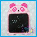 Panda ITH Chalkboard/Dry Erase Board