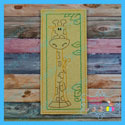 Giraffe Book Mark