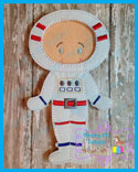 Astronaut  Space Suit 5x7