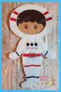 Astronaut Space Suit 6x10