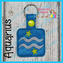 Aquarius Astrology Sign Snap Tab