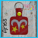 Aries Astrology Sign Snap Tab