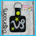 Capricorn Astrology Sign Snap Tab