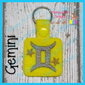 Gemini Astrology Sign Snap Tab