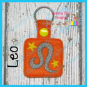 Leo Astrology Sign Snap Tab